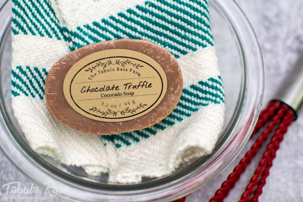 Chocolate Truffle Handcrafted Soap