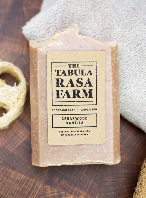 Cedarwood Vanilla Handcrafted Soap