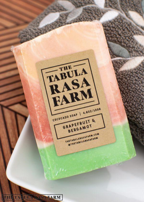 Grapefruit and Bergamot Handcrafted Soap
