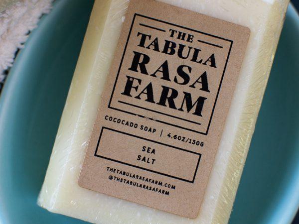 Sea Salt Handcrafted Soap