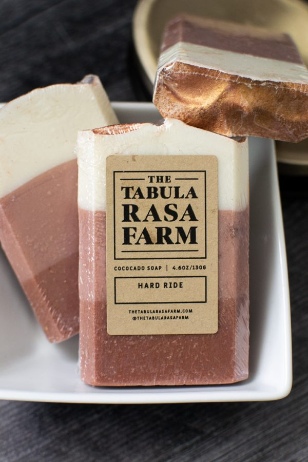 Hard Ride [Leather Fragrance] Handcrafted Soap