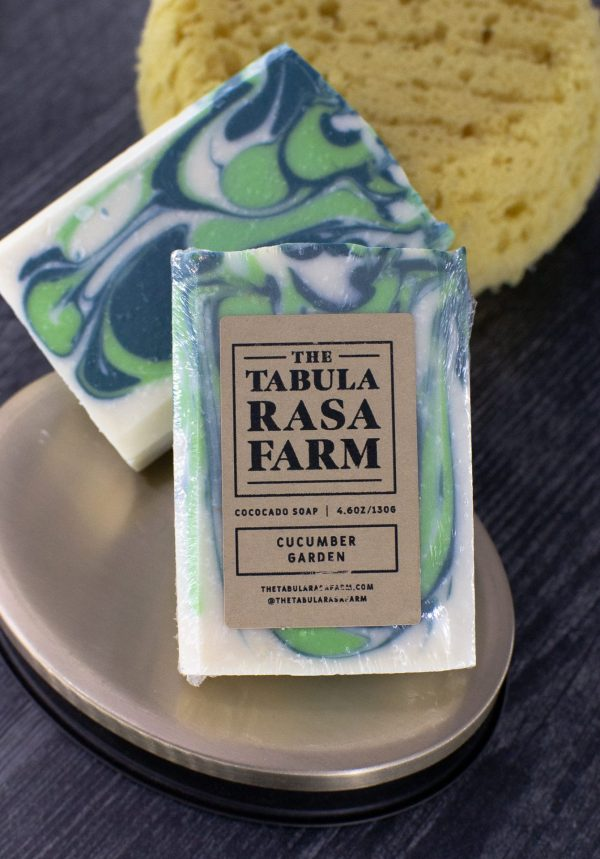 Cucumber Garden Handcrafted Soap